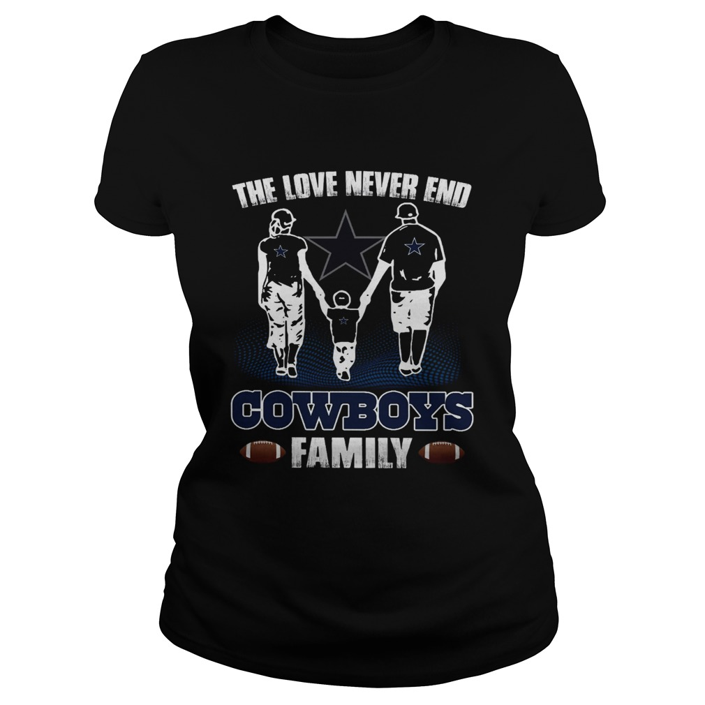 The love never end Chiefs Cowboys  Classic Ladies