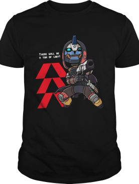 There will be a ton of loot D2 Hunter Vanguard shirt