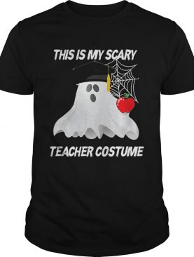 This is my scary teacher costume TShirt