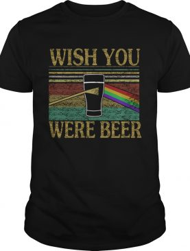 Wish You Were Beer Vintage Beer Lover Gift TShirt