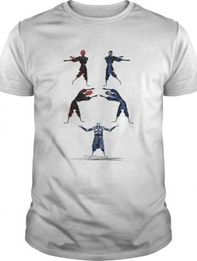 Darth Maul and Sub-Zero Fusion Night King shirt