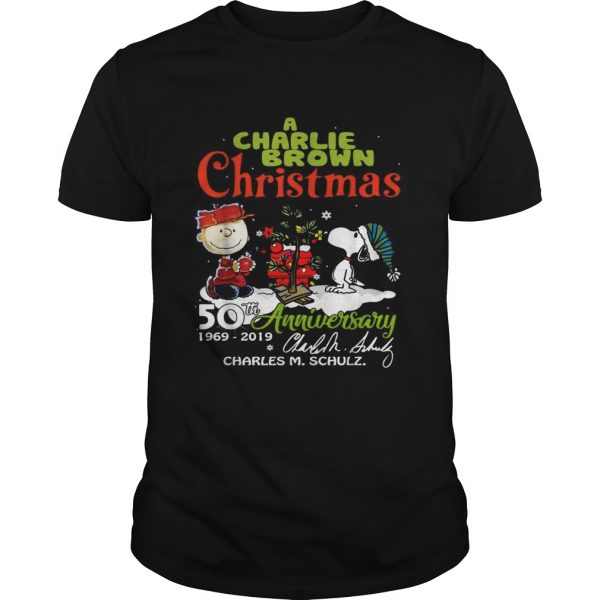 1572683681A Charlie Brown Christmas 50th Anniversary 1969-2019 signature  Unisex