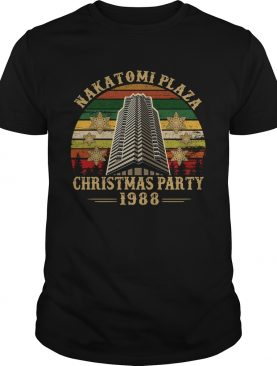 Nakatomi Plaza Chirtmast Party 1988 Vitage Shirt