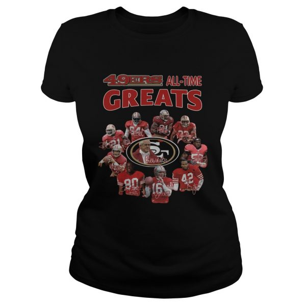 49ers alltime greats San Francisco 49ers Players Signatures  Classic Ladies