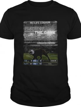 Black cat Metlife stadium player of the game Dallas Cowboys shirt