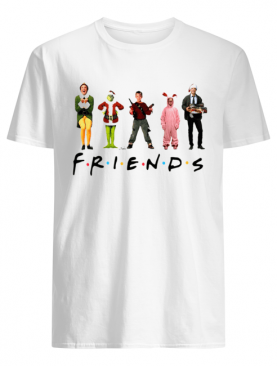 Characters Elf Grinch Kevin Friends Christmas shirt