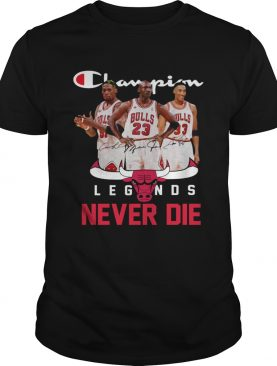 Chicago Bulls Champion Legends Never Die Dennis Rodman shirt