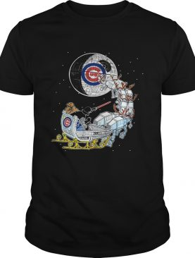 Chicago Cubs Star Wars Christmas Darth Vader Santas Sleigh shirt