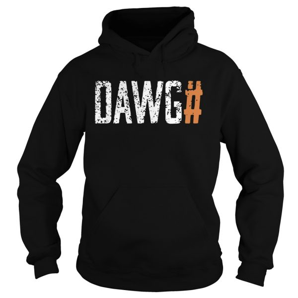 Cleveland Browns Dawg Check Brown  Hoodie