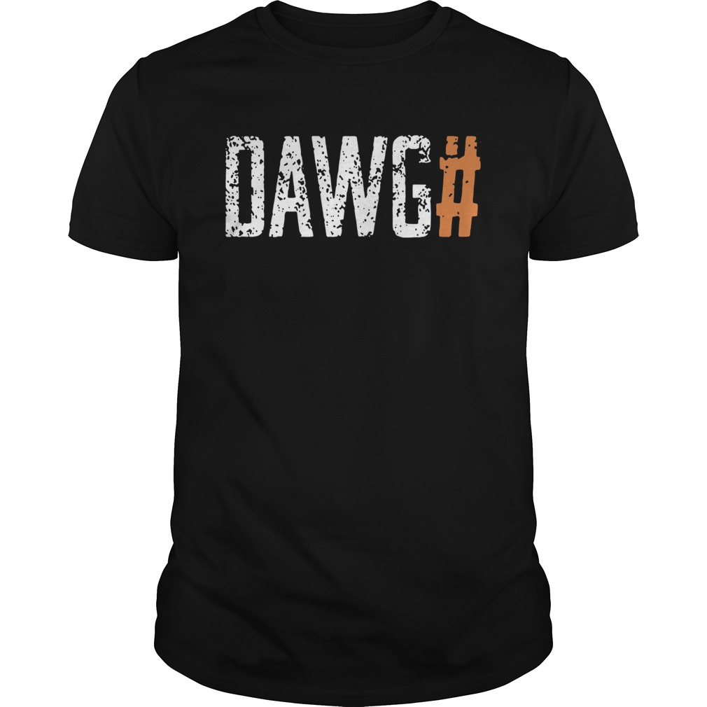 Cleveland Browns Dawg Check Brown  Unisex