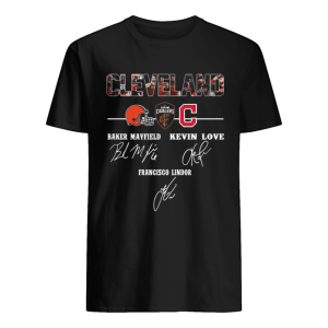 Cleveland Cavaliers Baker Mayfield Kevin Love signature  Classic Men's T-shirt