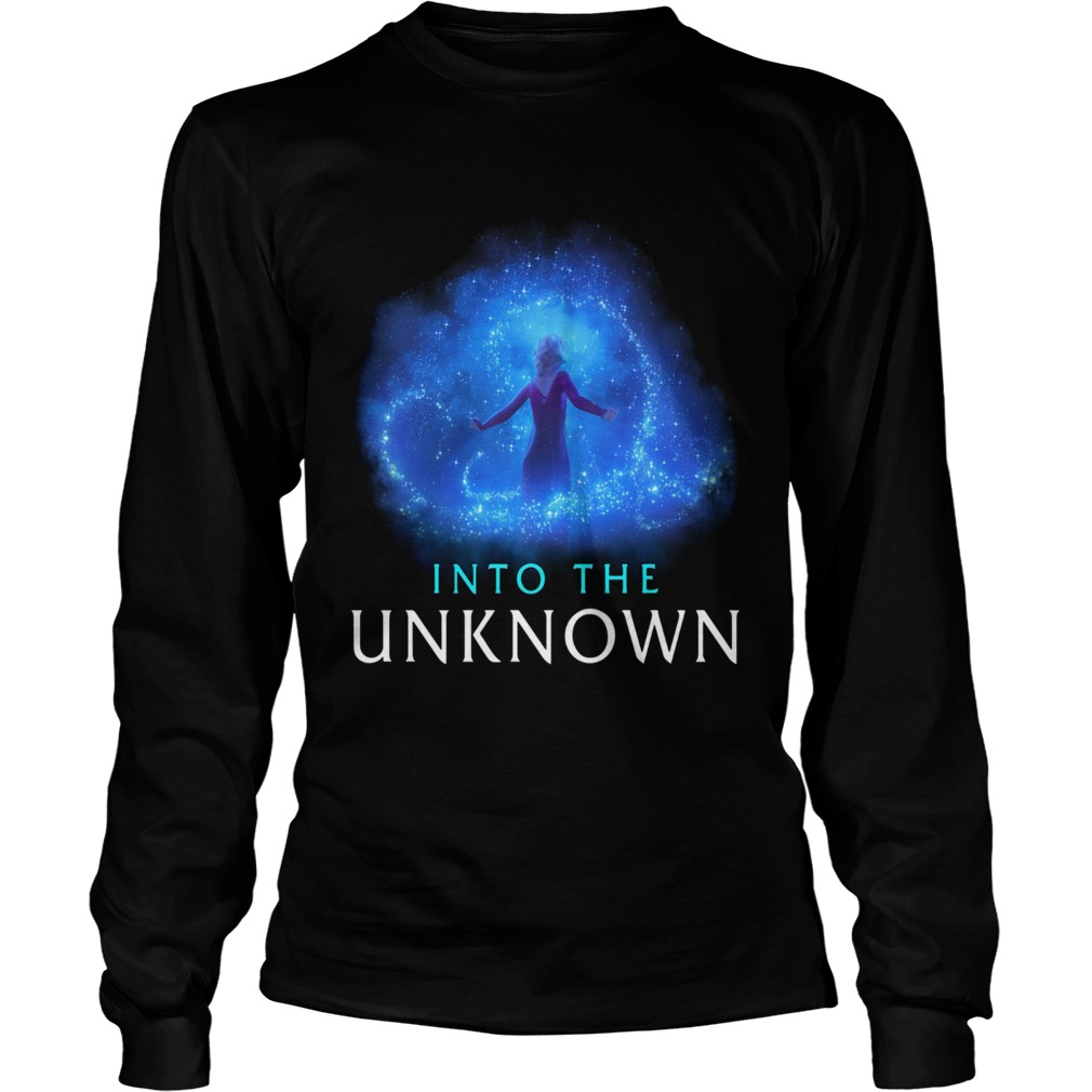 Elsa into the unknown  LongSleeve
