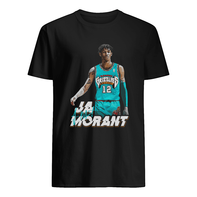 Ja Morant 12 Memphis Grizzlies Basketball  Classic Men's T-shirt