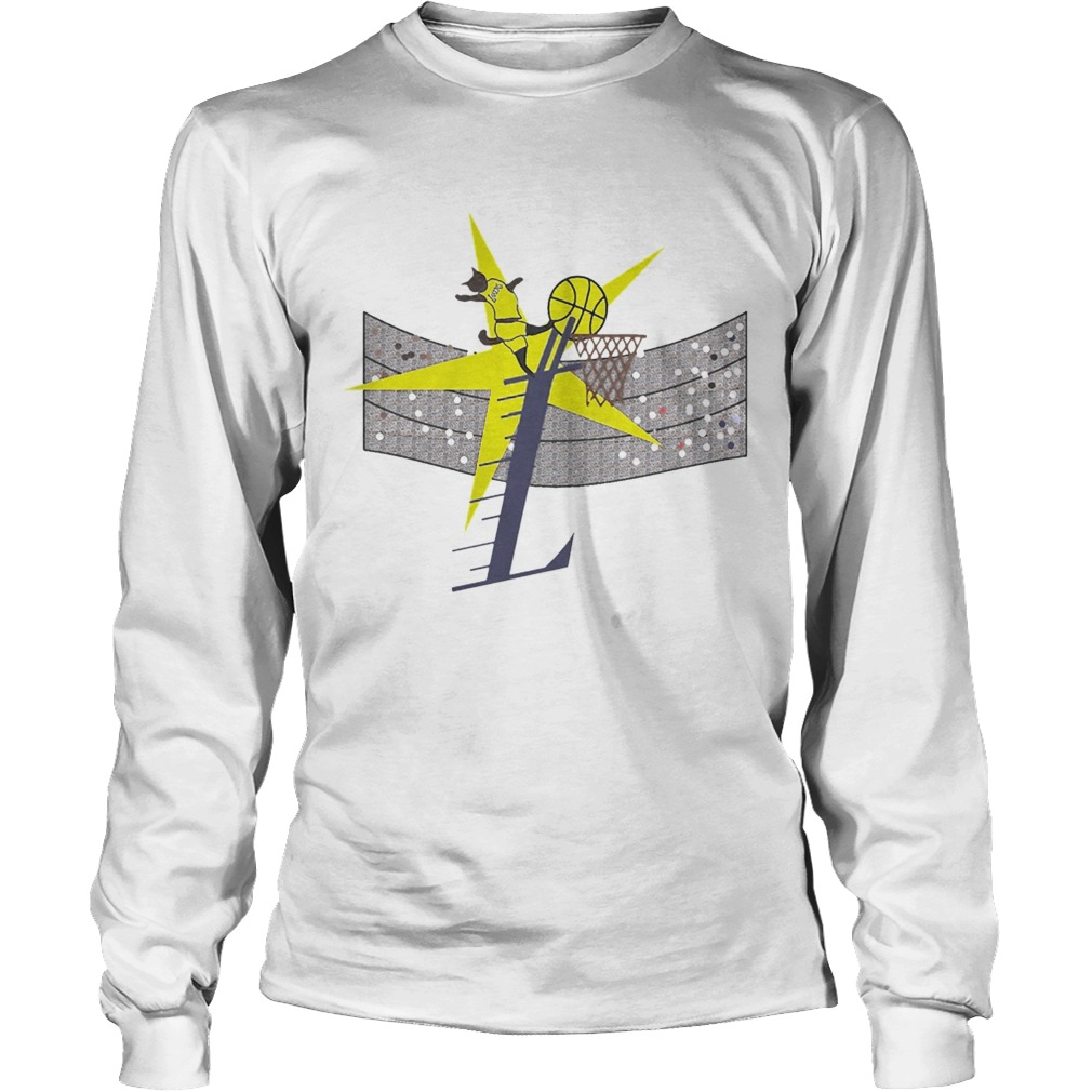 Los Angeles Lakers basketball Cat Player  LongSleeve