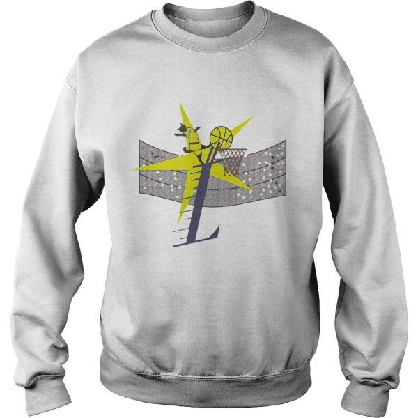 Los Angeles Lakers basketball Cat Player  Sweatshirt