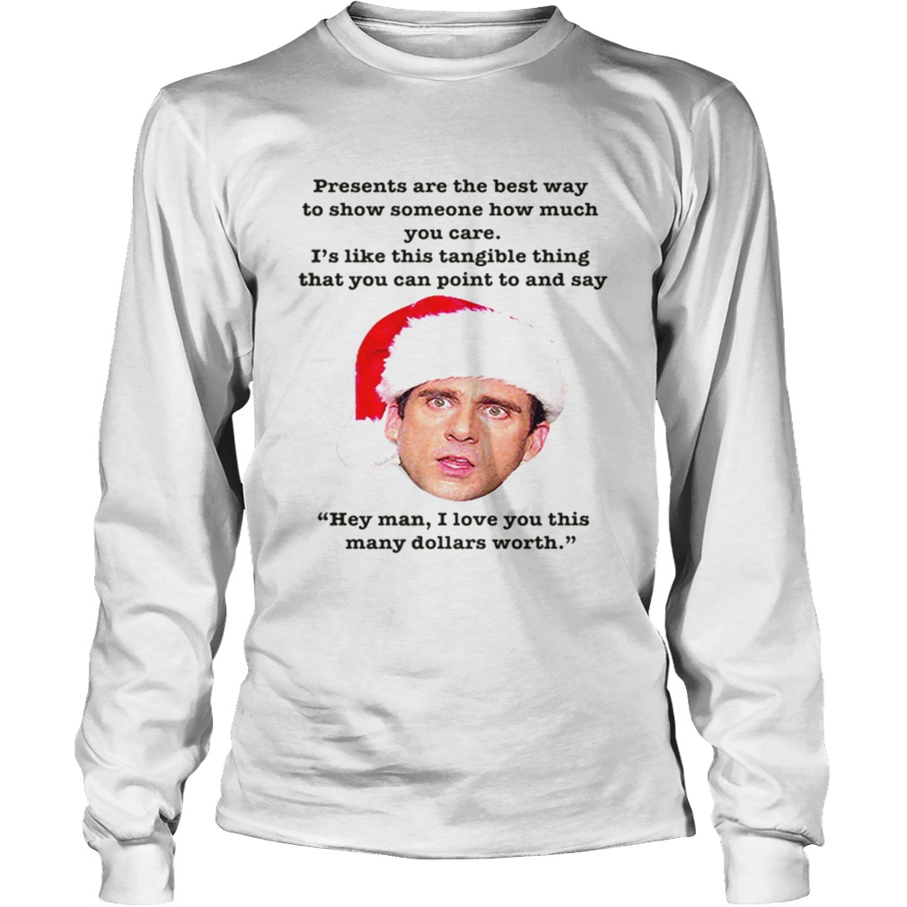 Michael Scott The Office Christmas Episode Quote  LongSleeve