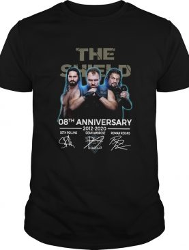 The Shield 08th Anniversary 20122020 Signatures shirt