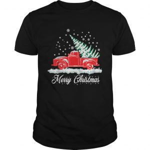 Christmas Classic Old Red Truck Classic XMAS Tree  Unisex