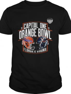Florida Gators vs Virginia Cavaliers 2019 Capital One Orange Bowl shirt