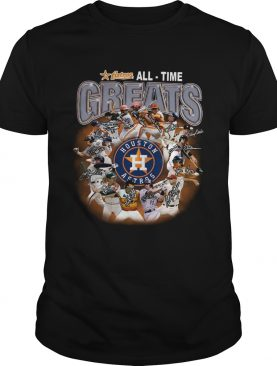 Houston Astros all time greats players signatures shirt