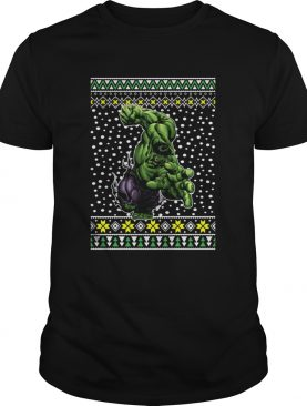 The Incredible Hulk Action Ugly Christmas shirt