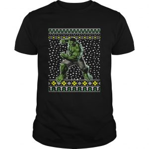 The Incredible Hulk Ugly Christmas  Unisex
