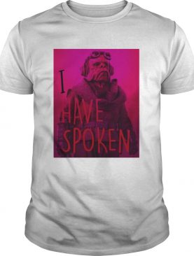 The Mandalorian Kuiil I Have Spoken shirt