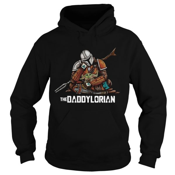 Daddy Baby Yoda The Daddylorian  Hoodie