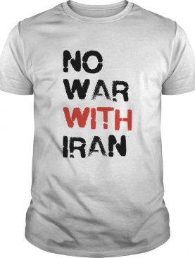 No War With Iran shirt