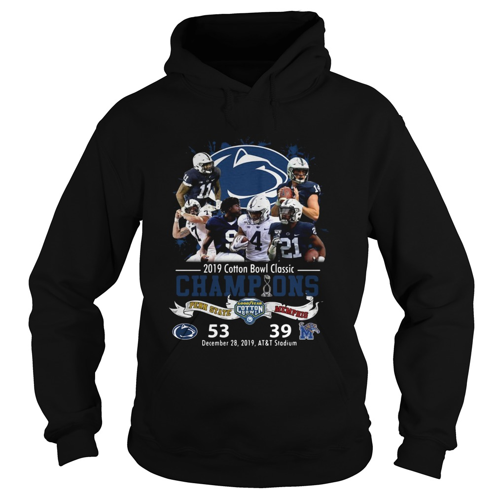 Penn State Nittany Lions 2019 Cotton Bowl Classic Champions Hoodie