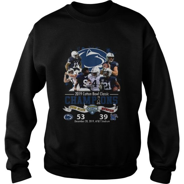 Penn State Nittany Lions 2019 Cotton Bowl Classic Champions  Sweatshirt