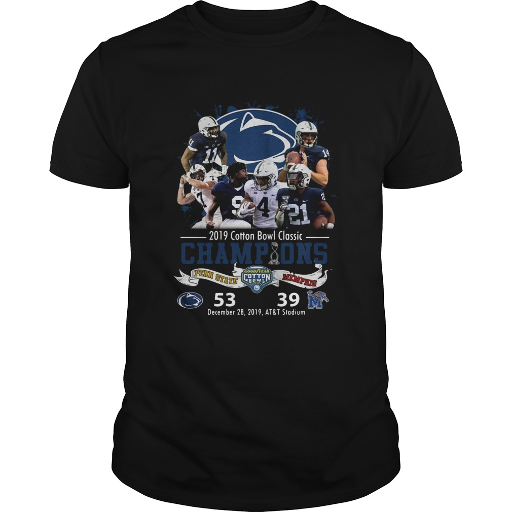 Penn State Nittany Lions 2019 Cotton Bowl Classic Champions Unisex