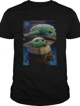 The Mandalorian Baby Yoda poster shirt
