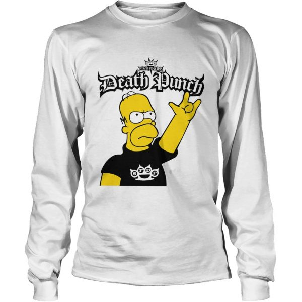 The Simpson Five Finger Death Punch  LongSleeve