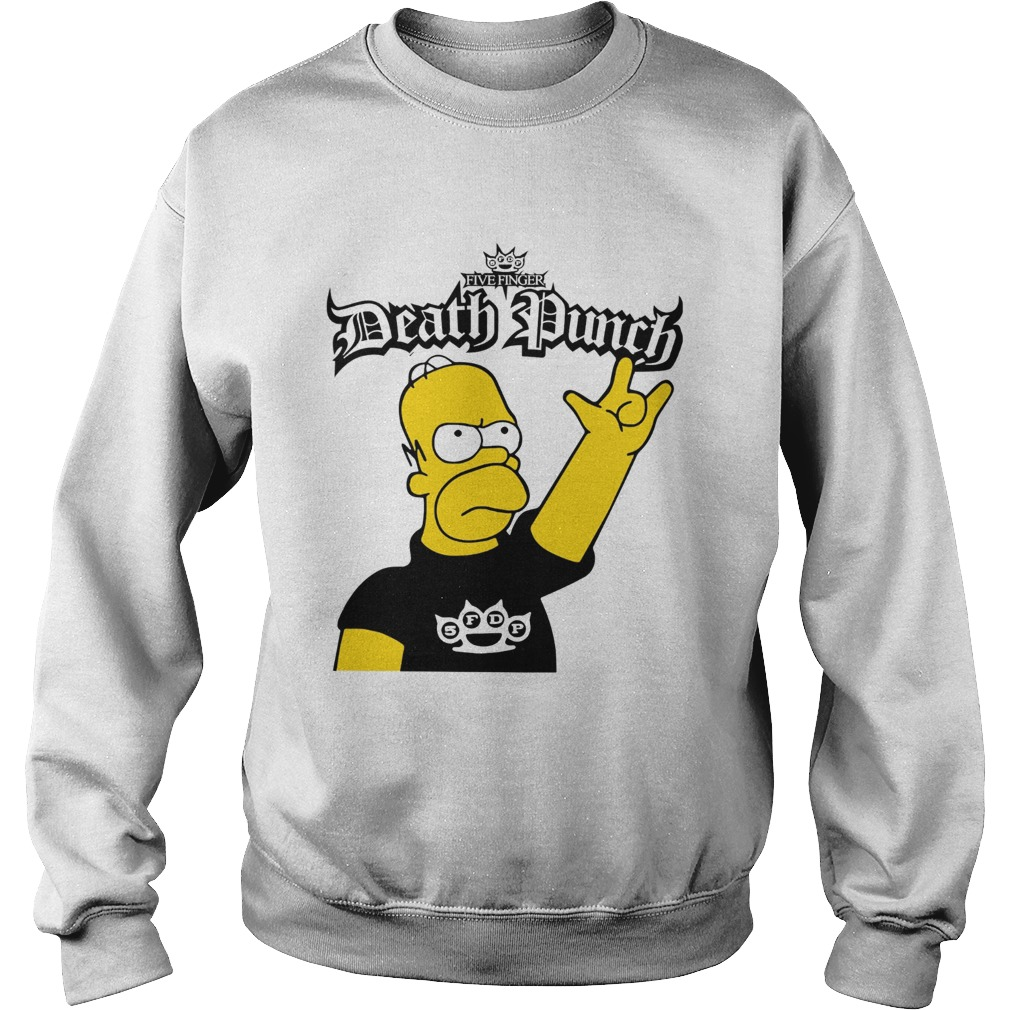 The Simpson Five Finger Death Punch Sweatshirt