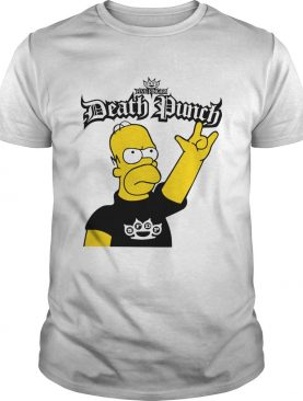 The Simpson Five Finger Death Punch shirt