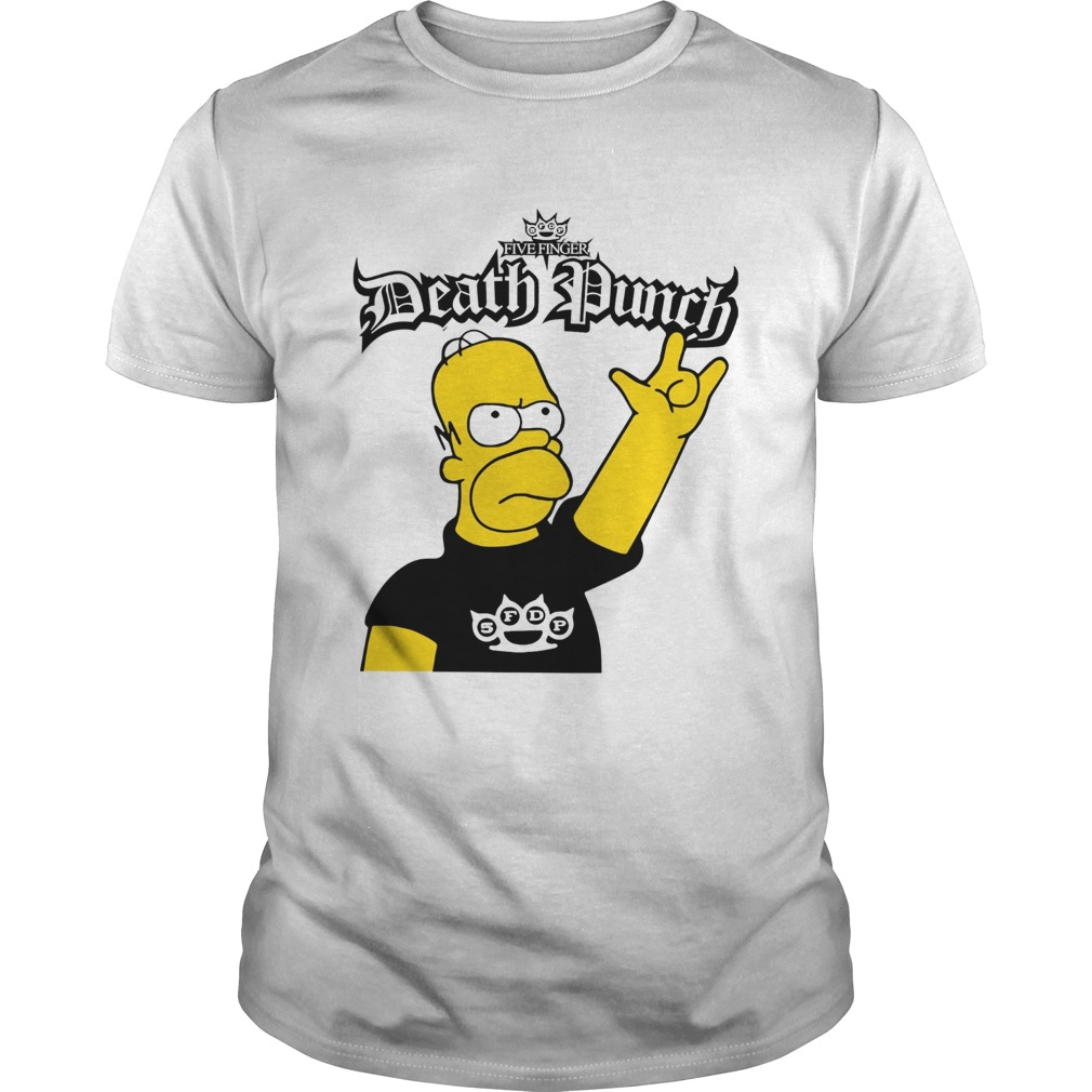 The Simpson Five Finger Death Punch Unisex
