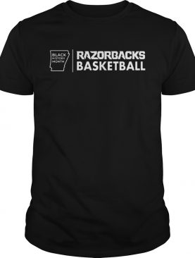 Black History Month Razorbacks Basketball shirt