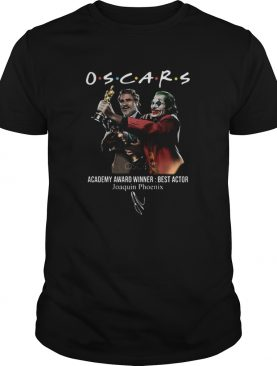 Joaquin Phoenix Joker Oscars 2020 Academy Award Winner Best Actor signature shirt