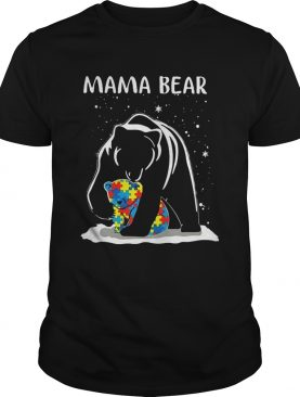 Mama Bear Autism Awareness shirt
