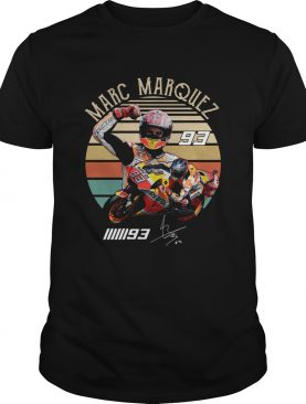 Marc Marquez 93 vintage sunset shirt
