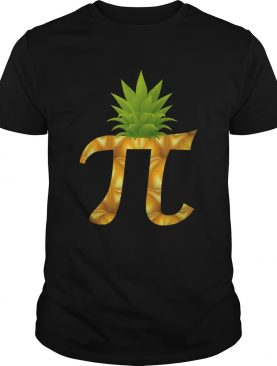 Pineapple Pi Day shirt