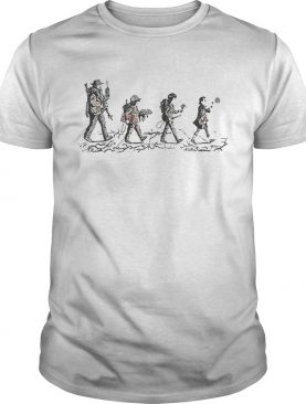 Stranger Things Walking The Abbey Road shirt