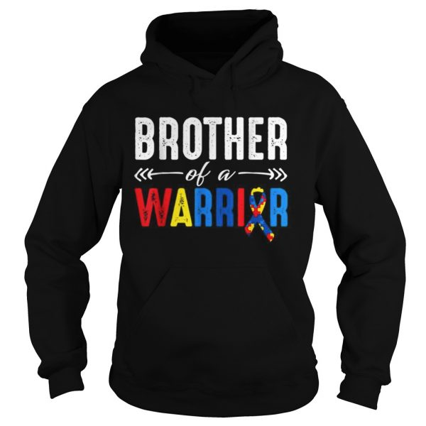 Brother of a Warrior Autism Awareness  Hoodie