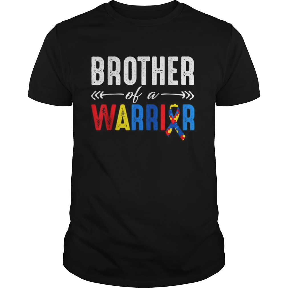Brother of a Warrior Autism Awareness  Unisex