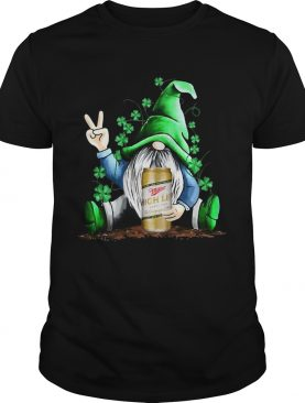 Gnomes Lucky Hug Miller High Life St Patricks Day shirt