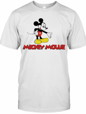 Harry Styles Mickey Mouse T-Shirt