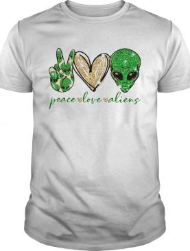 Peace Love Aliens shirt