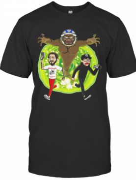 Post Malone Rick And Morty T-Shirt