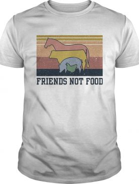 Animal Friends not food vintage shirt